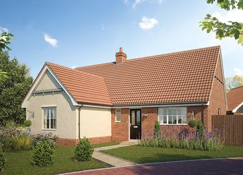Thumbnail 2 bed bungalow for sale in Earl's Meadow, The Street, Easton, Suffolk