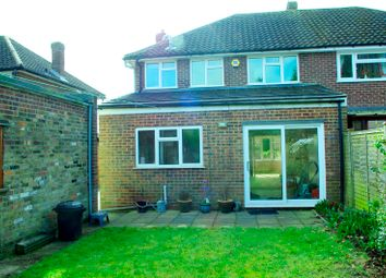 Thumbnail 3 bed semi-detached house to rent in Elderfield Road, Stoke Poges, Slough