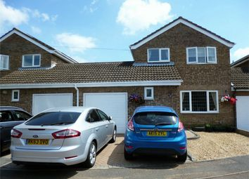 Thumbnail 4 bed link-detached house for sale in Eaton Socon, St Neots, Cambridgeshire