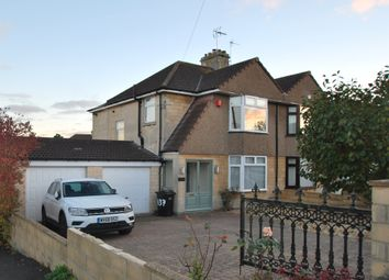 Thumbnail 3 bed semi-detached house for sale in The Hollow, Southdown, Bath