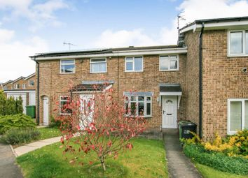 Thumbnail 3 bed terraced house for sale in Buttermere Drive, Dronfield Woodhouse, Derbyshire