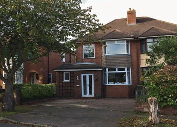 Thumbnail 3 bed semi-detached house for sale in Lyn Avenue, Lichfield