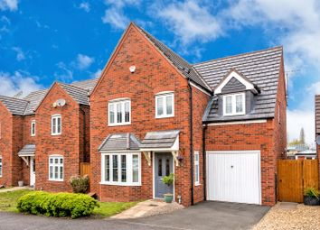 Thumbnail 4 bed detached house for sale in Westminster Road, Rushall, Walsall