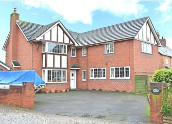 Thumbnail 4 bed detached house for sale in Nantwich Road, Calveley, Tarporley, Cheshire