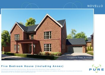 Thumbnail 5 bed detached house for sale in Livingstone Place, St. Asaph