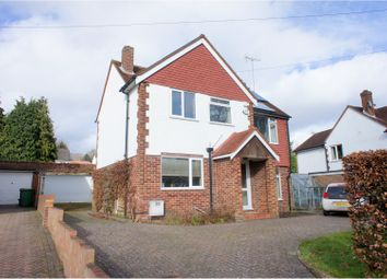 Thumbnail 4 bed detached house for sale in Chobham Road, Camberley