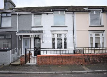 Thumbnail 3 bed terraced house for sale in Park View, Tredegar, Blaenau Gwent.