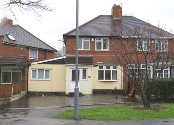 Thumbnail 3 bed semi-detached house for sale in Thornbridge Avenue, Great Barr, Birmingham