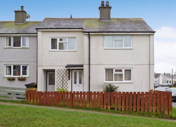 Thumbnail 3 bed end terrace house for sale in Bro Tudur, Llangefni