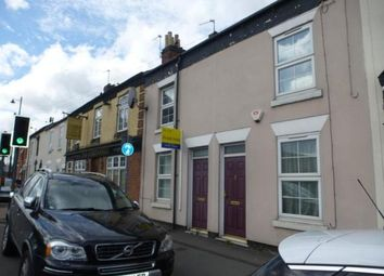 Thumbnail 2 bed terraced house for sale in Wellington Street, Burton-On-Trent, Staffordshire