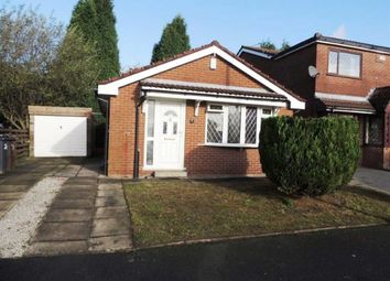 Thumbnail 2 bed detached bungalow for sale in Nightingale Drive, Audenshaw, Manchester