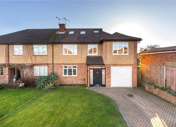 Thumbnail 5 bed semi-detached house for sale in Packhorse Close, St. Albans, Hertfordshire