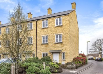 Thumbnail 3 bed end terrace house for sale in Ashcombe Crescent, Witney, Oxfordshire