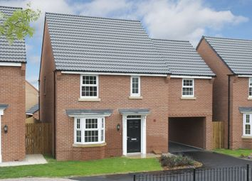 "Thumbnail 4 bedroom detached house for sale in ""Hurst"" at Ackworth Road, Pontefract"