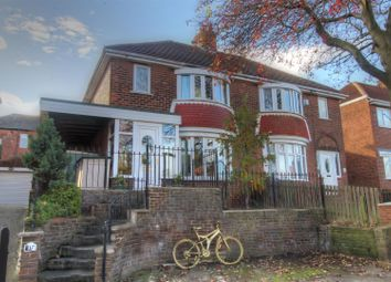 Thumbnail 3 bed semi-detached house for sale in Dykelands Road, Seaburn, Sunderland