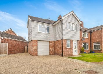 Thumbnail 4 bed semi-detached house for sale in Gainsborough Road, Colchester
