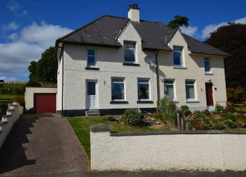 Thumbnail 3 bed semi-detached house for sale in 9 Druimlon, Drumnadrochit, Inverness