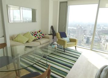 Thumbnail 1 bed flat to rent in Landmark West, Canary Wharf, London