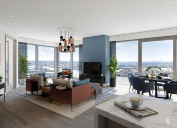 Thumbnail 2 bed flat for sale in 42.4 Aspen Consort Place, Marsh Wall, London