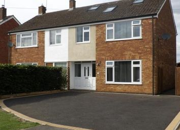 Thumbnail 5 bed semi-detached house for sale in Stanwell Lea, Middleton Cheney, Banbury, Northamptonshire