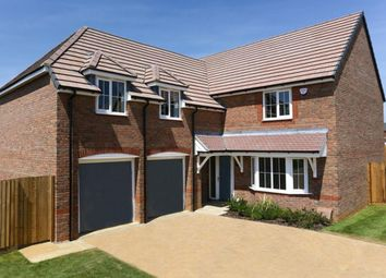 "Thumbnail 4 bedroom detached house for sale in ""Rothbury"" at Eldon Way, Crick Industrial Estate, Crick, Northampton"