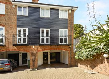 Thumbnail 3 bed mews house for sale in Harvest Lane, Thames Ditton, Surrey