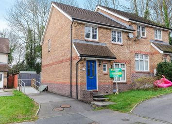 Thumbnail 3 bed semi-detached house for sale in Tre Newydd, Kenfig Hill, Bridgend