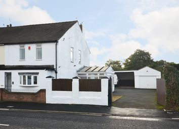 Thumbnail 4 bed end terrace house for sale in Church Lane, Knutton, Newcastle-Under-Lyme