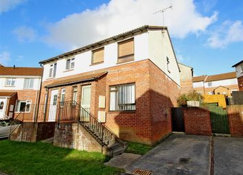 Thumbnail 3 bed semi-detached house for sale in Newbury Close, Whitleigh, Plymouth