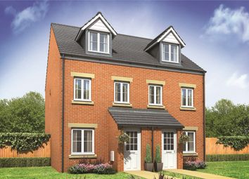 "Thumbnail 3 bed terraced house for sale in ""The Souter"" at Norwich Common, Wymondham"
