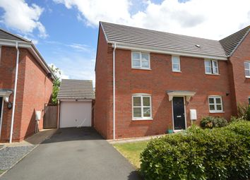 Thumbnail 3 bed semi-detached house for sale in Thorpe Gardens, Littlethorpe, Leicester