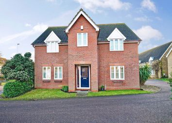 Thumbnail 4 bed detached house for sale in Green Gables, Eaton Ford, St. Neots