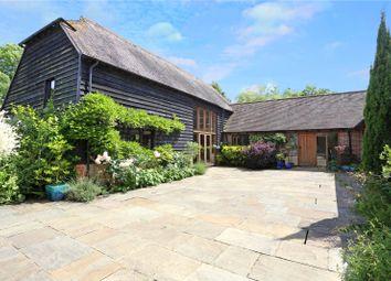 Thumbnail 4 bedroom barn conversion for sale in West Chiltington Lane, Broadford Bridge, Billingshurst, West Sussex