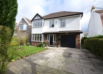 Thumbnail 4 bed detached house for sale in Church Road, Hale Village, Liverpool