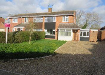 Thumbnail 4 bed semi-detached house for sale in Hillside, Barnham Broom, Norwich