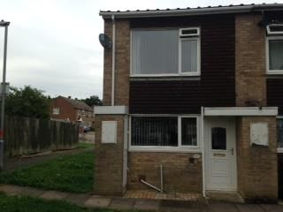 Thumbnail 2 bed property to rent in Redwood Close, Desborough, Kettering