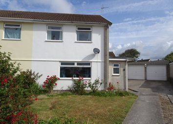 Thumbnail 3 bed semi-detached house for sale in Cardigan Close, Nottage, Porthcawl
