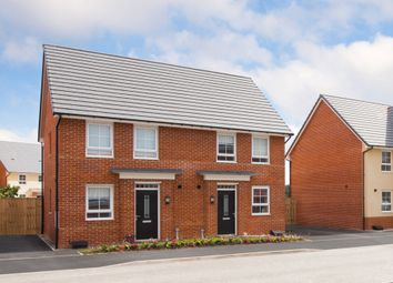 "Thumbnail 3 bedroom semi-detached house for sale in ""Bampton"" at Moss Lane, Macclesfield"