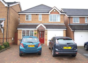Thumbnail 3 bed detached house for sale in Churchward Drive, Stretton, Burton-On-Trent, Staffordshire
