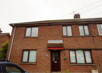 Thumbnail 2 bed flat for sale in Glenkeen Drive, Carrickfergus