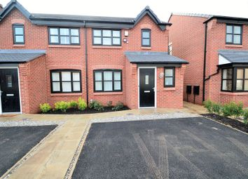 Thumbnail 3 bed semi-detached house to rent in Business & Technology Centre, Green Lane, Eccles, Manchester