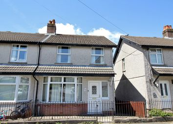 Thumbnail 3 bed semi-detached house for sale in Derwendeg Avenue, Cefn Fforest, Blackwood
