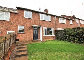 Thumbnail 3 bed terraced house for sale in Vale Crescent, Tilehurst, Reading
