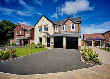 Thumbnail 5 bed detached house for sale in Plot 72, The Lavenham, Overton Manor, Shaws Lane, Eccleshall, Staffordshire