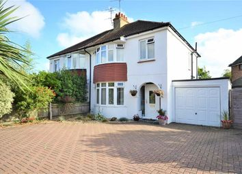 Thumbnail 3 bed semi-detached house for sale in Charmandean Road, Broadwater, Worthing, West Sussex