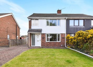 Thumbnail 3 bedroom semi-detached house for sale in Chesterton Road, Spondon, Derby