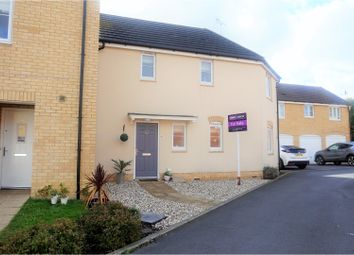 Thumbnail 3 bed end terrace house for sale in Damson Crescent, Swindon