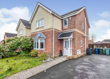Thumbnail 3 bed detached house for sale in De Haviland Way, Skelmersdale, Lancashire