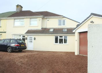 Thumbnail 4 bed semi-detached house for sale in Beacon Park Road, Plymouth, Plymouth