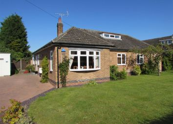 Thumbnail 3 bed detached bungalow for sale in Mill Lane, Hilton, Derby